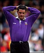 John Gregory had endured over a turbulent time at Derby County