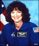 Undated file photo of astronaut Laurel Clark