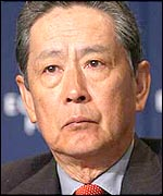 Nobuyuki Idei, Sony chairman (Photo by WEF)