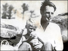 Donald Maclean and one of his sons