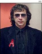 Phil Spector, pictured in 1998