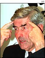 UN High Commissioner for Refugees Ruud Lubbers