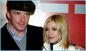 Guy Ritchie and wife Madonna