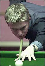 Double champion Paul Hunter
