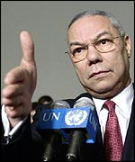 Colin Powell. Photo courtesy of the UN.