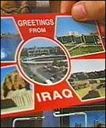 Iraqi post card