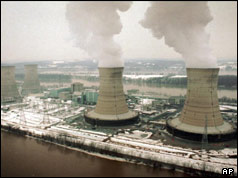 Photo of Three Mile Island nuclear plant