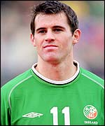 Ireland and Sunderland star Kevin Kilbane