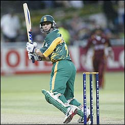 Gary Kirsten is Souh Africa's top scorer with 67