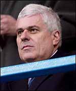 Leeds United chairman Peter Ridsdale