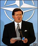 Lord George Robertson, Nato secretary-general