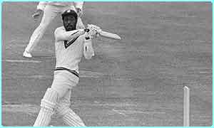 Sir Viv Richards in action