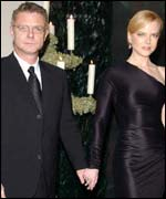 Stephen Daldry and Nicole Kidman