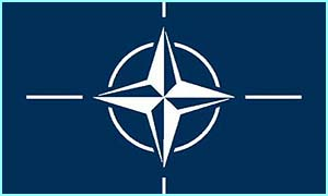 Nato's official flag