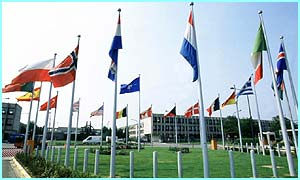 Nato's headquarters in Brussels, Belgium