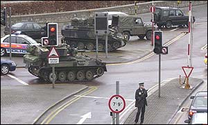 The last time the army was deployed at Heathrow was 1994