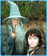 French and Saunders did a send-up of Lord of the Rings too