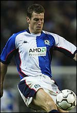 Blackburn Rovers' Craig Short