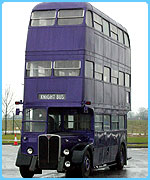 The Knight Bus from The Prisoner of Azkaban