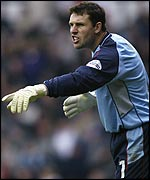 Nottingham Forest keeper Darren ward