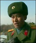 Military commander in North Korea