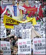 Stop the War march in November
