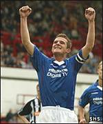 Rangers captain Barry Ferguson