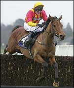 Tony McCoy and Tiutchev win the 2002 Ritz Club Ascot Chase