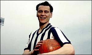 Bobby Robson played for West Bromwich Albion in the late 1950s