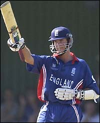 England batsman Michael Vaughan records another half-century to his impressive career tally