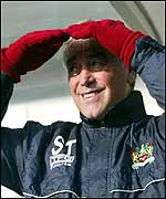 Stan Ternent was in buoyant