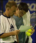 David Felgate and Tim Henman