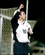 Scotland striker Don Hutchison