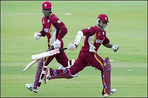 Lara and Chanderpaul steady the Windies innings
