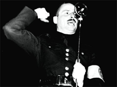 Photo of Sir Oswald Mosley in 1936