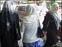 Muslims women in Sydney