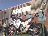 CCM Motorcycles factory, Blackburn