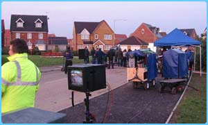Pre-production filming of Magnolia Crescent