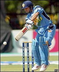 Tendulkar batters the Namibia attack