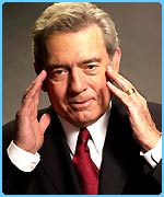US journalist Dan Rather