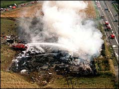 BBC ON THIS DAY | 25 | 2000: Concorde crash kills 113