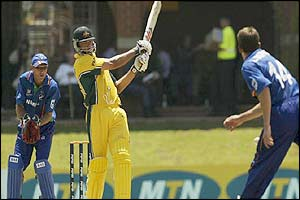 Australia's Andrew Symonds hits out