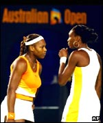 Las hermanas Serena y Venus Williams.