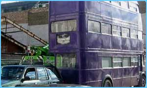 The Knight Bus features in the third Potter film