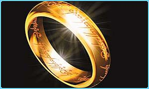 The One Ring from LOTR