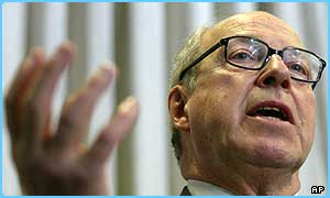 Chief UN Weapons inspector Hans Blix