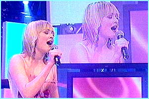 CBBC's Fearne crooned a soulful number, Killing Me Softly - and she certainly didn't murder the judges' ears too much!