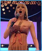 The Saturday Show's Fearne Cotton belts out a tune