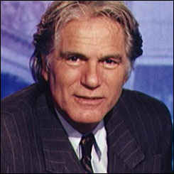 Adam Faith presents BBC TV's Working Lunch