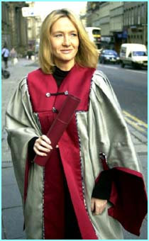 In 2000 Edinburgh's Napier University honoured her with a degree